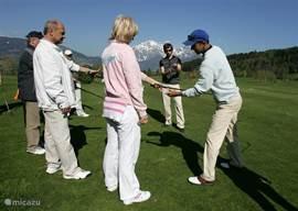 Golfvakantie & Golfcursussen bij Nederlanders in Saalfelden, Oostenrijk. Golfakademie Urslautal, met Nederlandse Golf Pro.