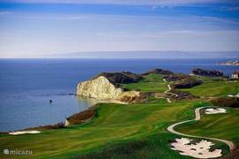 Thracian Cliffs, modern championship golf course, near two other golf courses to the sea (Black Sea Rama and Lighthouse)